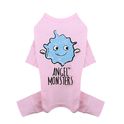 Puppy Angel Monsters Overall M Rose