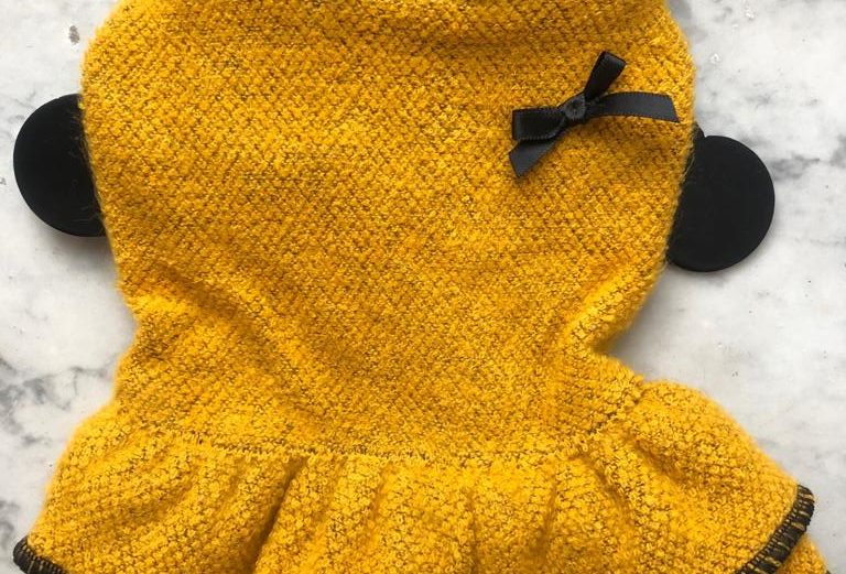 Coco Knitted Dress Yellow XS